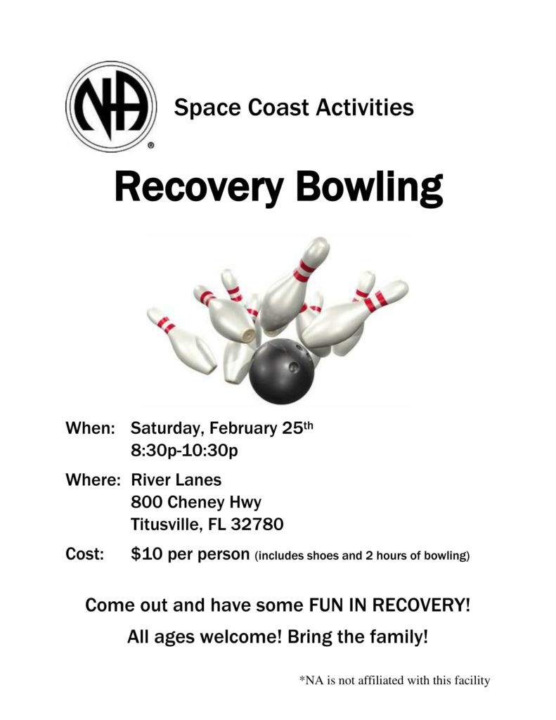 Recovery Bowling @ River Lanes | Titusville | Florida | United States