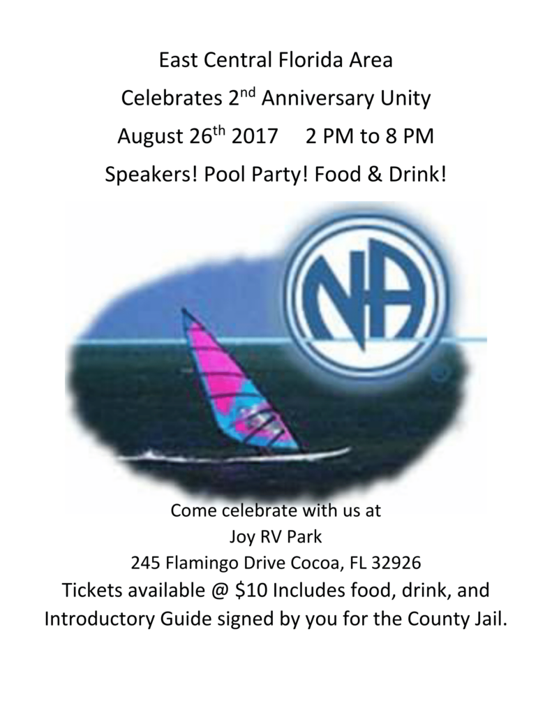 East Central Florida 2nd Anniversary Unity @ Joy RV Park | Cocoa | Florida | United States