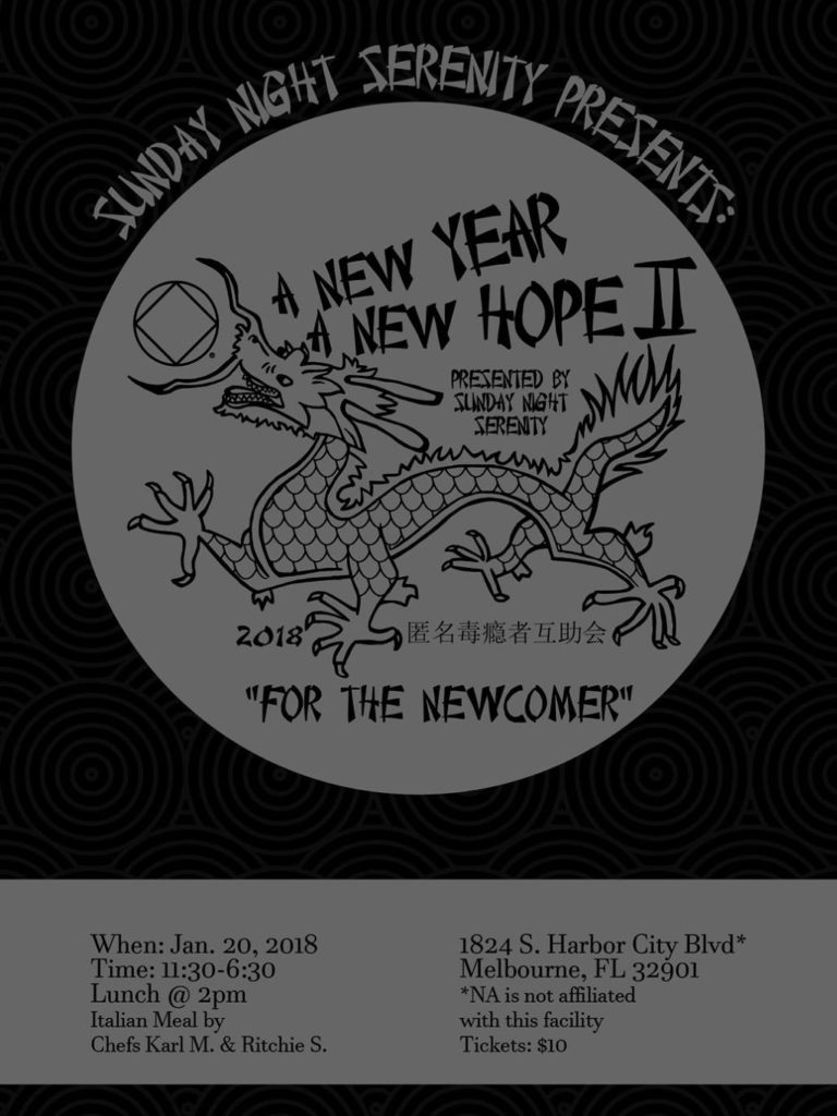 Sunday Night Serenity Presents  A New Year A New Hope II Speaker Jam @ His Place Ministries Church | Melbourne | Florida | United States